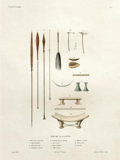 Tools of the Society Islands-Ambroise Tardieu-Giclee Print