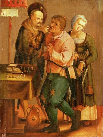 Tooth Extraction-Lucas van Leyden-Giclee Print