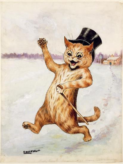 Top Cat!-Louis Wain-Giclee Print