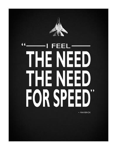 Top Gun The Need For Speed-Mark Rogan-Giclee Print