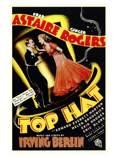 Top Hat, 1935--Art Print