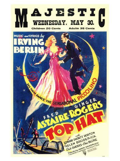 Top Hat, 1935--Art Print