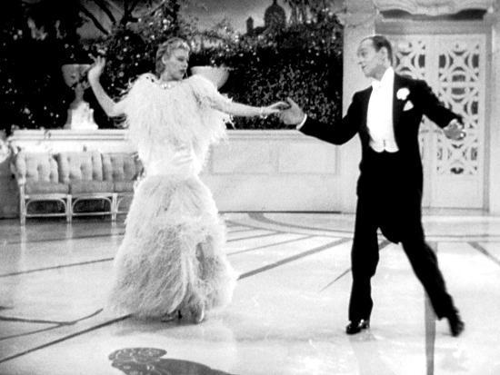 Top Hat, Ginger Rogers, Fred Astaire, 1935--Photo