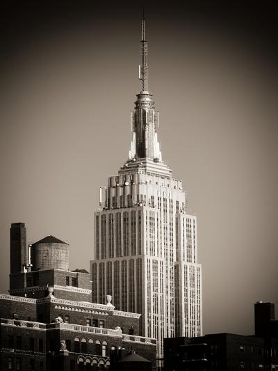 Top of the Empire State Building-Philippe Hugonnard-Photographic Print