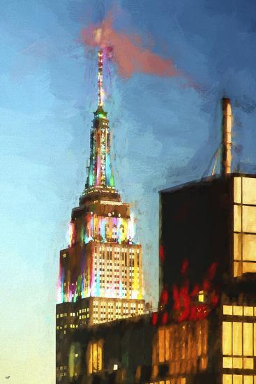 Top of the Empire State Building-Philippe Hugonnard-Giclee Print