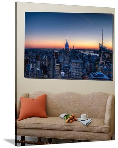 Top of the Rockefeller Center, New York-Nick Jackson-Loft Art