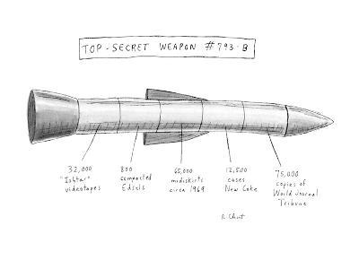 Top-Secret Weapon #793-B - New Yorker Cartoon-Roz Chast-Premium Giclee Print