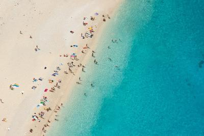Top View of Beautiful Dreamy Beach-Jag_cz-Photographic Print