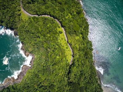 Top View of Exotic Hill in Brazil-Filipe Frazao-Photographic Print