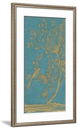 Topaz Chinoiserie I-June Erica Vess-Framed Giclee Print