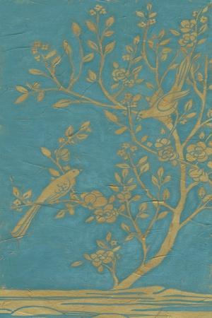 Topaz Chinoiserie I-June Vess-Art Print