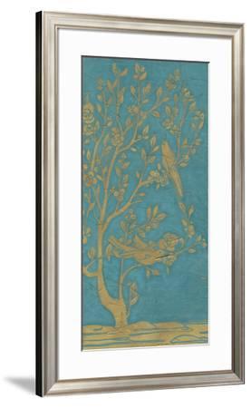 Topaz Chinoiserie II-June Erica Vess-Framed Giclee Print