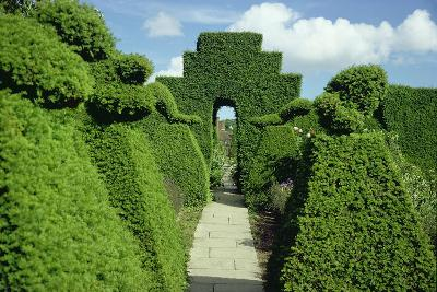 Topiary Garden, Designed-Sir Edwin Lutyens-Giclee Print