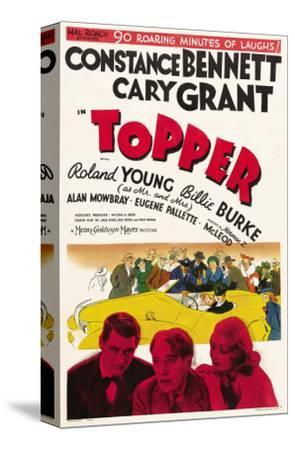 Topper, Cary Grant, Roland Young, Constance Bennett, 1937
