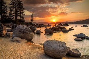 Lake Tahoe at Sunset by topseller