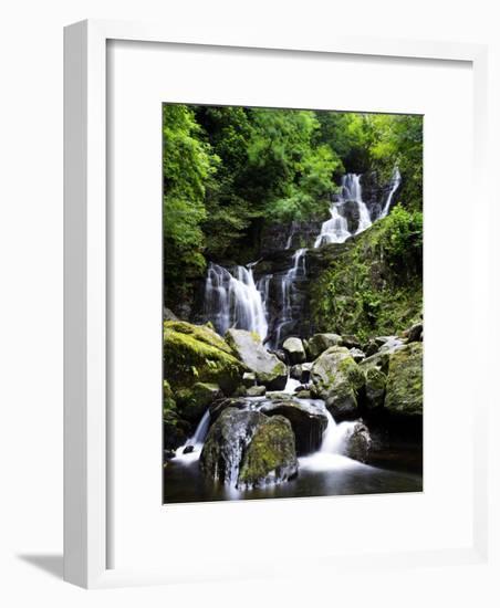 Torc Waterfall, Ireland-David Clapp-Framed Photographic Print