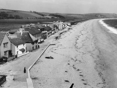 Torcross, the Little Village on Slapton Sands, South Devon, England--Photographic Print