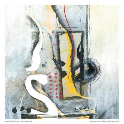 Tordre Le Coup (Détail 1)-Sylvie Cloutier-Art Print