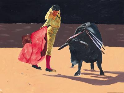 Toreador II-Irene Celic-Art Print