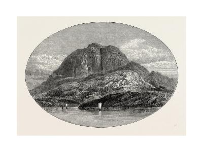 Torghatten from the East. Torghatten Is a Mountain on Torget Island in Brøn--Giclee Print