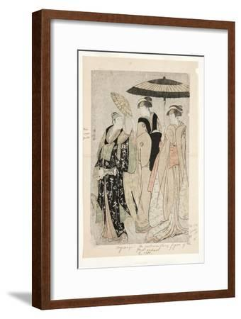 Actors in the Play Oakinai Hiruga Kojima, Nakamura Theater, Xi/1784, 1784