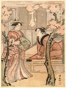 Hanami Zuki by Torii Kiyonaga