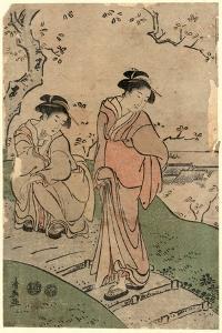 Hanami by Torii Kiyonaga