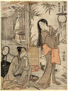 Kesagozen by Torii Kiyonaga