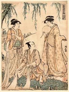 Michiyuki Tamagawa No Dan by Torii Kiyonaga
