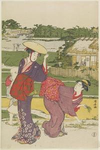Outing at Muko Jima, 1787 by Torii Kiyonaga