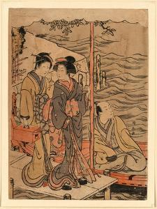 Sanbashi No Danjo by Torii Kiyonaga