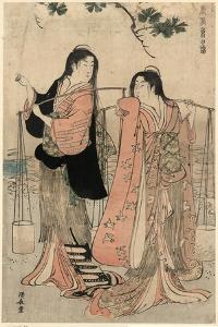 Shiokumi by Torii Kiyonaga
