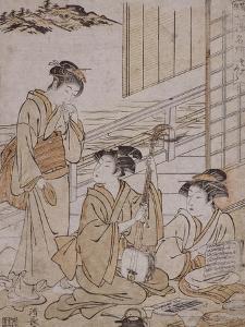 Sokokura by Torii Kiyonaga