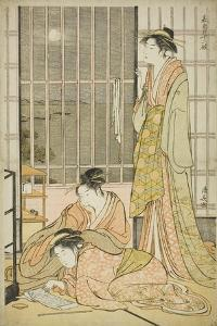 The Ninth Month, from the Series Twelve Months in the South (Minami Juni Ko), C.1784 by Torii Kiyonaga