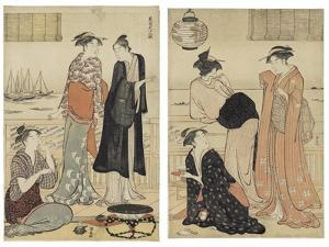 The Sixth Month, from the Series Twelve Months in the South (Minami Juni Ko), C.1784 by Torii Kiyonaga