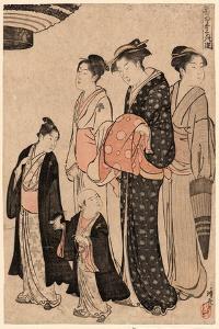 Tomimoto Bushi by Torii Kiyonaga