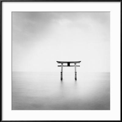 Torii, Takaishima, Honshu, Japan, 2002-Michael Kenna-Framed Art Print
