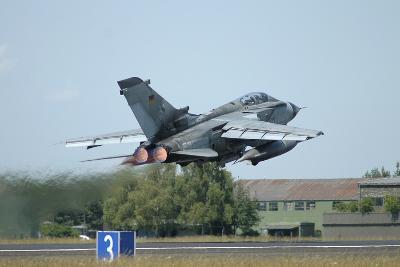 Tornado Ecr of the German Air Force Taking Off from Lechfeld Air Base-Stocktrek Images-Photographic Print