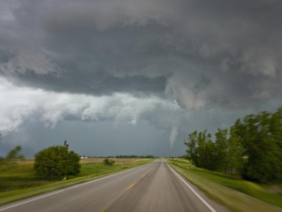 Tornado Near Wilson, Kansas, USA-Charles Doswell-Photographic Print