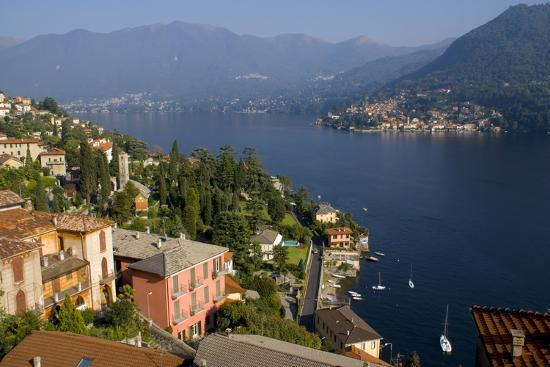Torno from Moltrasio, Lake Como, Lombardy, Italian Lakes, Italy, Europe-Charles Bowman-Photographic Print