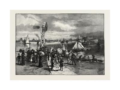 Toronto, from the Island, Canada, Nineteenth Century--Giclee Print