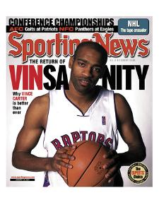 Toronto Rapters' Vince Carter - January 19, 2004