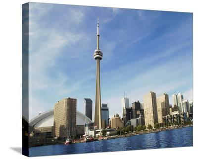 Toronto Skyline from Island--Stretched Canvas Print