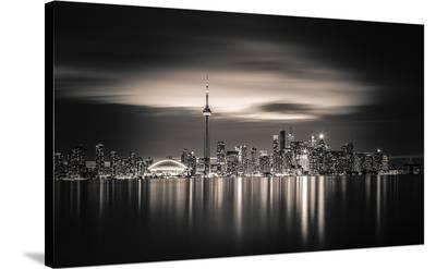 Toronto--Stretched Canvas Print