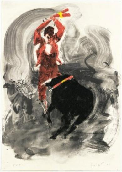 Toros 1-Eric Fischl-Limited Edition