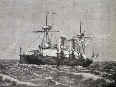 Torpedo Boat Vesuvius, 1886, Italy, 19th Century--Giclee Print