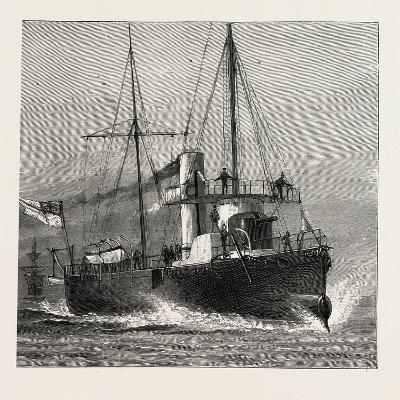 Torpedo Gun Boat, Full Speed-2O Knots an Hour, 1888--Giclee Print