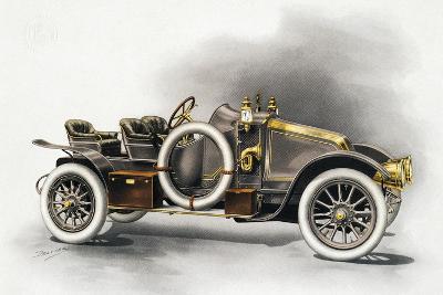 Torpedo Type Cg Renault Motor Car, Renault Catalogue, 1911, France, 20th Century--Giclee Print