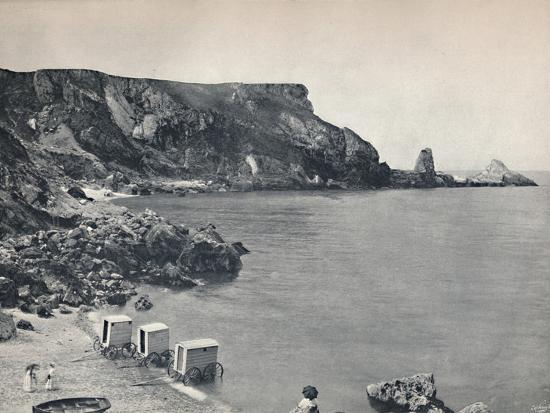 'Torquay - Anstey's Cove', 1895-Unknown-Photographic Print