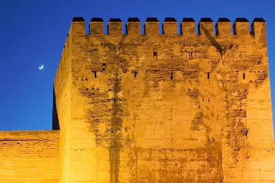 Torre De La Vela, Alcazaba, La Alhambra, Granada, Spain-Susan Degginger-Photographic Print